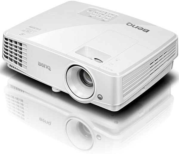Benq ms527-proyector DLP-lateral